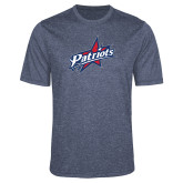 Performance Navy Heather Contender Tee-Patriots Star