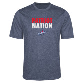 Performance Navy Heather Contender Tee-Patriot Nation