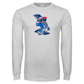 White Long Sleeve T Shirt-The Patriot