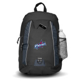Impulse Black Backpack-Patriots Star