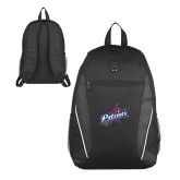 Atlas Black Computer Backpack-Patriots Star