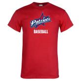 Red T Shirt-Baseball