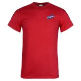 Red T Shirt-Patriots Star