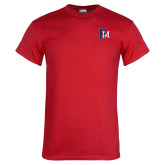 Red T Shirt-Interlocking FM