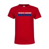 Youth Red T Shirt-Tennis Stacked