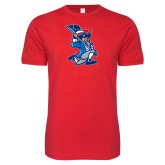 Next Level SoftStyle Red T Shirt-The Patriot