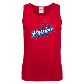 Red Tank Top-Patriots Star