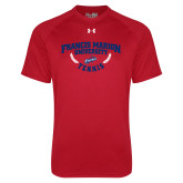 Under Armour Red Tech Tee-Tennis Branch