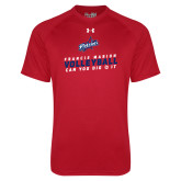 Under Armour Red Tech Tee-Volleyball Can you dig it