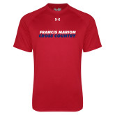 Under Armour Red Tech Tee-Cross Country Stacked