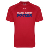 Under Armour Red Tech Tee-Soccer Stacked