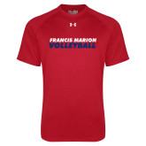 Under Armour Red Tech Tee-Volleyball Stacked