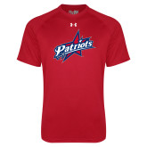 Under Armour Red Tech Tee-Patriots Star