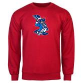 Red Fleece Crew-The Patriot