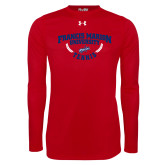 Under Armour Red Long Sleeve Tech Tee-Tennis Branch