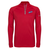 Under Armour Red Tech 1/4 Zip Performance Shirt-Patriots Star