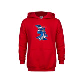 Youth Red Fleece Hoodie-The Patriot