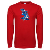 Red Long Sleeve T Shirt-The Patriot