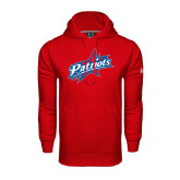 Under Armour Red Performance Sweats Team Hoodie-Patriots Star