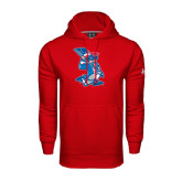 Under Armour Red Performance Sweats Team Hoodie-The Patriot