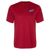 Performance Red Tee-Patriots Star