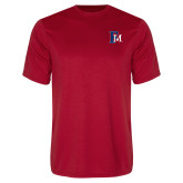 Performance Red Tee-Interlocking FM