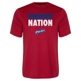 Performance Red Tee-Patriot Nation