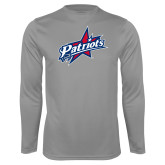 Performance Steel Longsleeve Shirt-Patriots Star