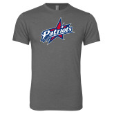 Next Level Premium Heather Tri Blend Crew-Patriots Star