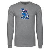 Grey Long Sleeve T Shirt-The Patriot