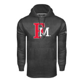 Under Armour Carbon Performance Sweats Team Hoodie-Interlocking FM