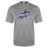 Performance Grey Heather Contender Tee-Patriots Star