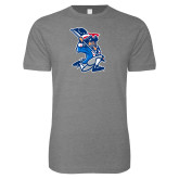 Next Level SoftStyle Heather Grey T Shirt-The Patriot