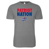 Next Level SoftStyle Heather Grey T Shirt-Patriot Nation