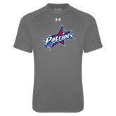 Under Armour Carbon Heather Tech Tee-Patriots Star