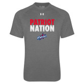 Under Armour Carbon Heather Tech Tee-Patriot Nation