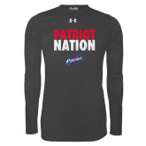 Under Armour Carbon Heather Long Sleeve Tech Tee-Patriot Nation