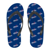 Full Color Flip Flops-Patriots Star