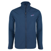 Navy Softshell Jacket-Patriots Star