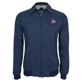 Navy Players Jacket-Interlocking FM