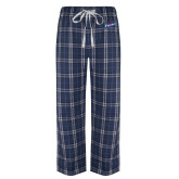 Navy/White Flannel Pajama Pant-Patriots Star