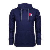 Adidas Climawarm Navy Team Issue Hoodie-Interlocking FM