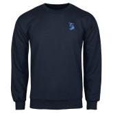 Navy Fleece Crew-The Patriot