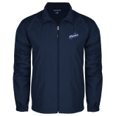 Full Zip Navy Wind Jacket-Patriots Star
