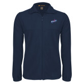Fleece Full Zip Navy Jacket-Patriots Star