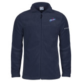 Columbia Full Zip Navy Fleece Jacket-Patriots Star
