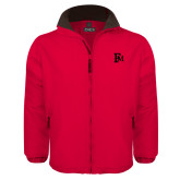 Red Survivor Jacket-Interlocking FM
