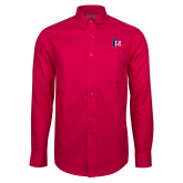 Red House Red Long Sleeve Shirt-Interlocking FM