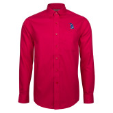 Red House Red Long Sleeve Shirt-The Patriot