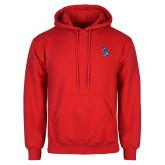 Red Fleece Hoodie-The Patriot